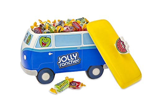 Jolly Ranchers Candy Bowl Dish, Candy Bus Dish with Cover
