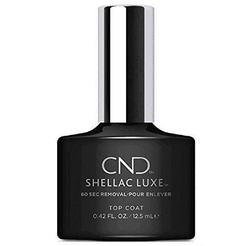 CND Shellac Luxe Top Coat Nagellack, 12.5 ml