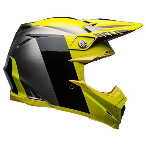 Bell Moto-9 Flex Adult Off-Road Motorcycle Helmet - Division Matte/Gloss Black/Hi Viz/Gray/X-Large