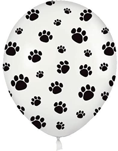 11 Paw Prints All Over Balloons (50 ct) (50 per package) by Betallic