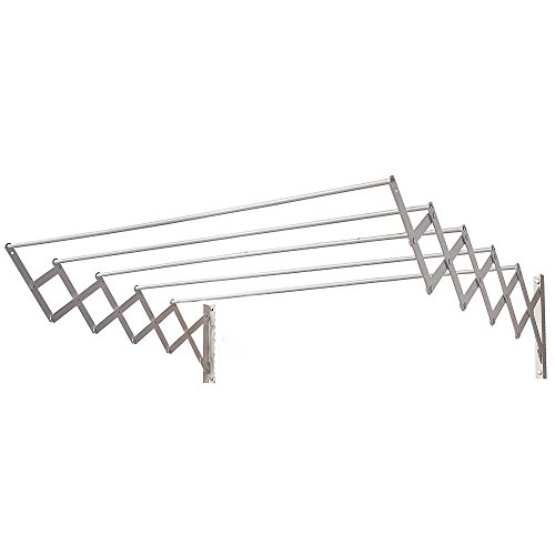 ORYX 5160325 Tendedero Extensible Pared Aluminio 1,20 Metros