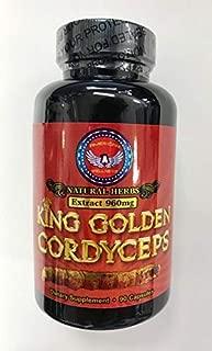 King Golden Cordyceps - 90 capsules