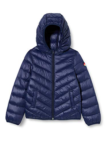 United Colors of Benetton 2RQ453IQ0 Giacca, Peacoat 252, L Bambina
