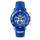 Ice-Watch - ICE aqua Marine - Montre bleue pour homme avec bracelet en silicone - Chrono - 001459 (Medium)
