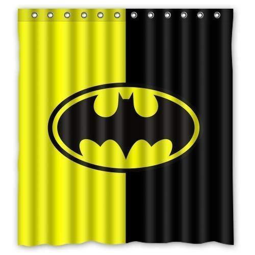 Spezielles Design bunte Batman Badezimmer wasserdicht DuschvorhangWasserdichtes Bad ausgekleidet Duschvorhang Abdeckung Kunststoff moderne Vorhang wasserdicht & feuchtigkeitswiderstandsfähig Maschine