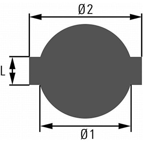 HELLA 8XY 007 103-001 Verschluss, Kraftstoffbehälter - PT34 - mit Schloss/mit Schlüssel