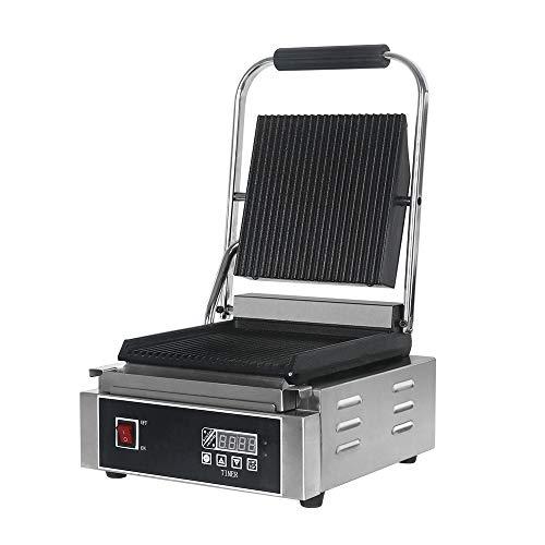 Panini Sandwich Presse Parrilla eléctrica pan tostadora máquina no stick placas recubiertas...