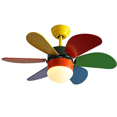 Flashing Persoonlijkheidsverlichting creatieve ventilator licht plafondventilator ventilator licht muette snelheid lichtverandering licht woonkamer eetkamer lamp slaapkamer lamp kinderkamer kinderkamer