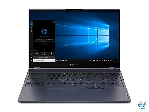 Lenovo Legion 7 - Ordenador portátil Gaming de 15.6' Full HD (Intel Core i7-10750H, 16GB de RAM, 512GB SSD, GeForce RTX 2080 Super MAX-Q 8GB, SinSO) Slate Grey