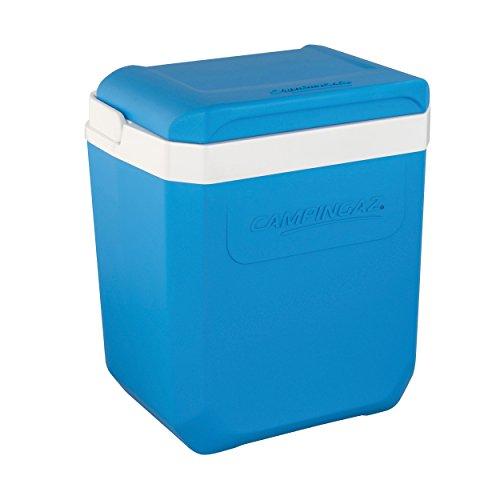 Campingaz Icetime Plus 26L, passive Kühlbox, Thermobox mit 26 L Fassungsvermögen, Eisbox mit PU-Vollschaumkern-Füllung hält Essen und Getränke bis zu 24h kühl