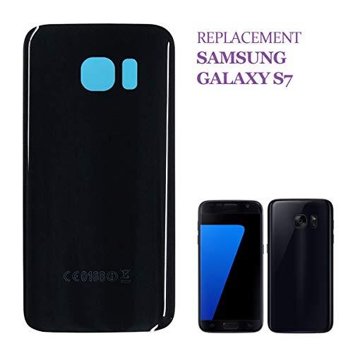 swark - Copribatteria compatibile con Samsung Galaxy S7 G930F G930, colore nero