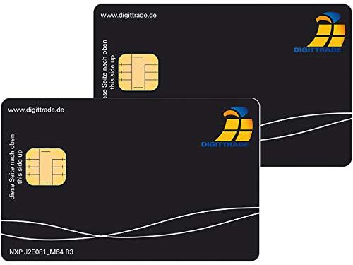 Digittrade HS-SC-NPXJ2E081x2 Smartcard HS256S3 (2) EAL5 Zertifizierung