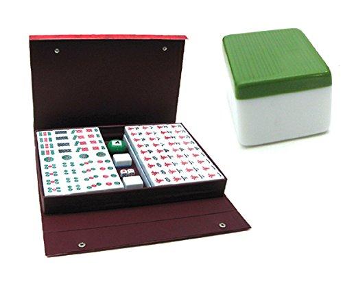 Caja Mahjong Retro Port/átil,M Conjunto Club Mahjong YUANZHOU Conjunto Mahjongg Chino