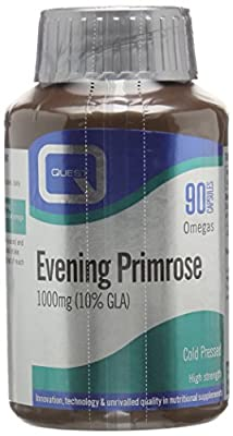 Quest 1000mg Evening Primrose Oil - Pack of 90 Capsules from Quest Vitamins