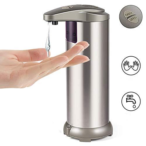 Yangliu Zeepdispenser,automatische Inductie Roestvrijstalen Mobiele Telefoon Wassen Infrarood Sensor Zeepvrije Zeepdispenser 250ml Geschikt Voor Keuken, Badkamer