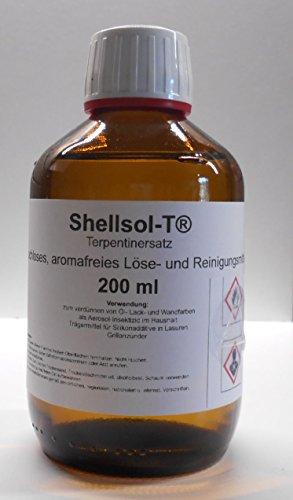 200 ml Shellsol-T®,Terpentinersatz, geruchloses, aromafreies Lösemittel und Pinselreiniger