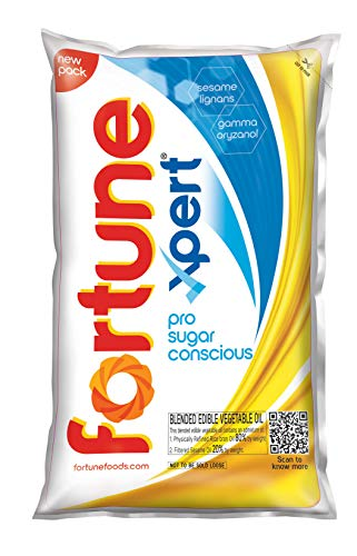 Fortune Xpert (Vivo)Pro Sugar Conscious Edible Oil, Pouch, 1...