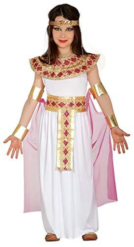 Guirca - Disfraz de Egipcia, talla 7-9 años, color rosa (85944)