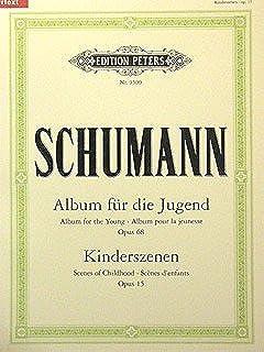 ALBUM VOOR DE JUGEND + KINDERZENEN - geregeld voor piano [Noten / Sheetmusic] Component: SCHUMANN ROBERT