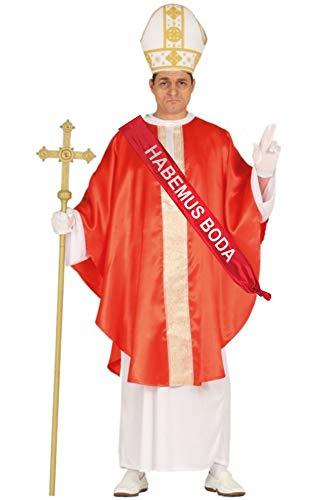 Disfraz de Papa Rojo Con Banda