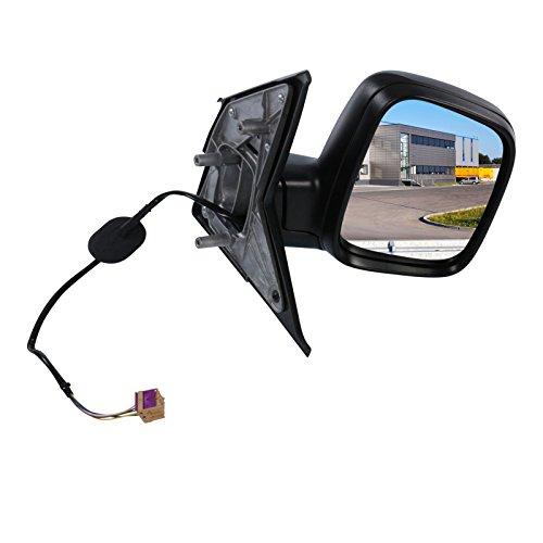Außenspiegel Spiegel rechts konvex beheizbar inneneinstellbar elektrisch schwarz