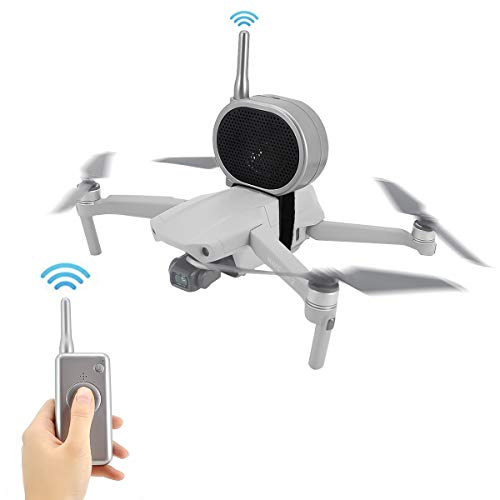 Mini altoparlante Megafono in tempo reale portatile Amplificatore per microfono senza interferenze a lunga distanza per DJI Mavic Air 2 / Mavic Mini / Mavic Pro 2 / Mavic Air / Phantom 3 4 Drone