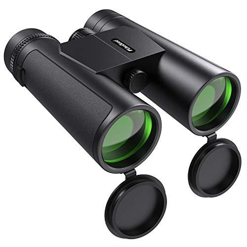 Usogood Fernglas 10x42 Kompaktfernglas für Vogelbeobachtung, Wandern und Jagen, 16,5mm BAK-4 Prisma und Mehrschichtiger FMC Antireflex Grünfilm
