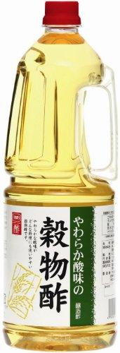 内堀醸造 やわらか酸味の穀物酢 ペット1.8L