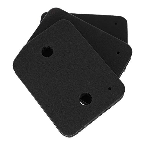 3 x Schwammfilter Sockelfilter Schaumstoff Filter Schaumfilter für Wärmepumpentrockner Trockner Miele 9164761