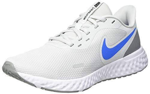 Nike Revolution 5, Scarpe da Corsa Uomo, Photon Dust/Photo Blue-Particle Grey-Black-White, 41 EU