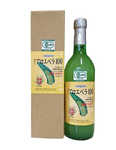 葉肉入りアロエベラ100 アロエベラジュース(720ml)×6本