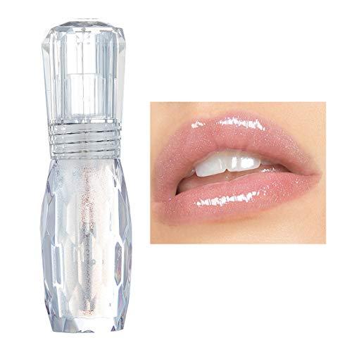 GL-Turelifes Lip Plumper Gloss Jelly Color Lippenstift, Lip Plumping Balm Plumper Lipgloss - Klarer Lipgloss - Vollere und hydratisierte Lippen, Beseitigung von Trockenheitsfalten (#4)