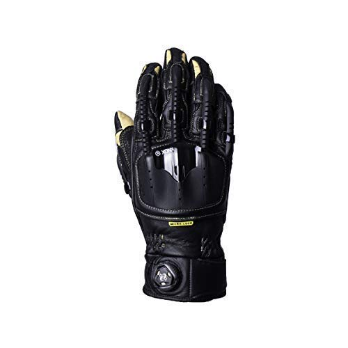 Knox Handroid Pod corto verano moto guantes de cuero - pasos