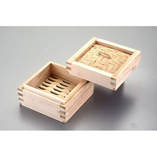 Kanda 본격파삼제 각형 찜기15cm 436399 (본체, 뚜껑 개별 판매)