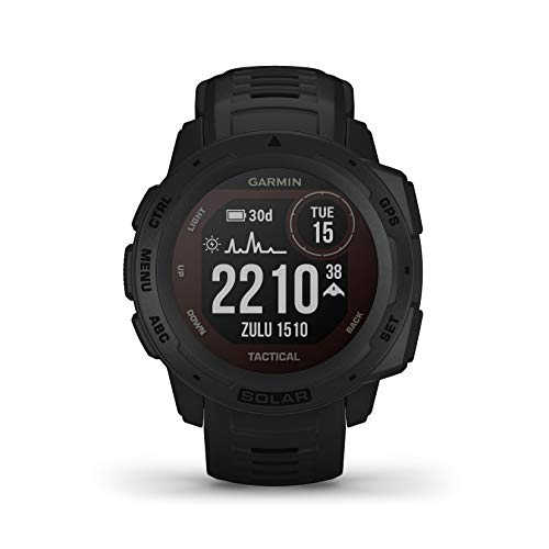 Garmin Instinct Solar - Tactical, Negro