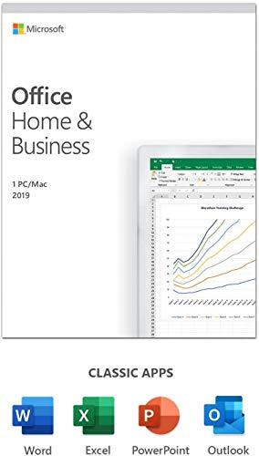 MS Office 2019 Home & Business | 1 utente | 1 PC | Windows 10 o Mac | acquisto una tantum | multilingue | scatola