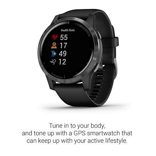Garmin Vivoactive 4 - Reloj inteligente con GPS y funciones de ...