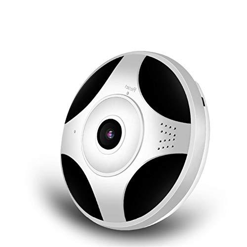 La cámara de WiFi 1080P VR grados de vistas panorámicas de la cámara IP inalámbrica Wifi P2P 2MP cámara de vigilancia IP Seguridad for el Hogar (Sensor Size : 1080P (32GB SD Card))