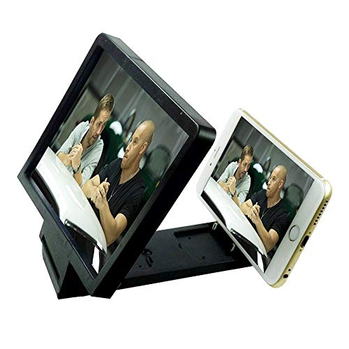 Compatibele Vervangings Gsm-scherm 3D Video Folding Vergrote Expander Stand for de iPhone 6 en 6 Plus, iPhone 5, Samsung Galaxy S6 / S5 / HTC/Nokia/LG/Mobiele Telefoon Accessoire