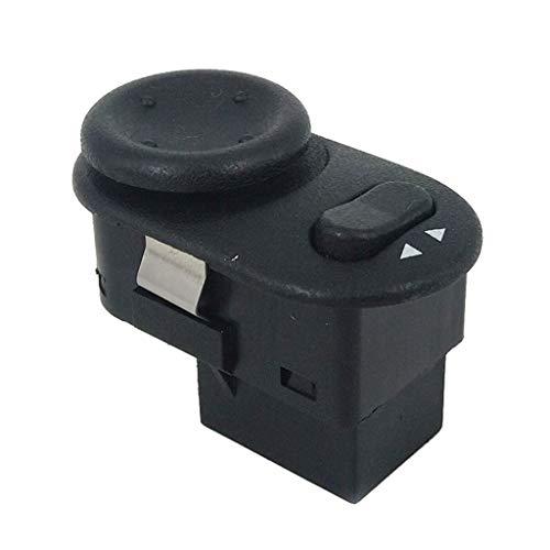 xy Control de Espejo Interruptor de Ajuste de Control de Espejo de visión Trasera de alimentación for Opel Vauxhall Astra-G 1998-2005 MK plástico ABS + Interruptor de Control de Espejo retrovisor