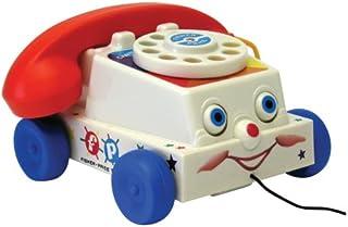Teléfono clásico con parloteo de Fisher Price