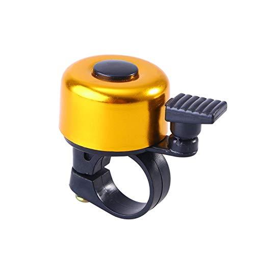 Timbres de bicicleta for adultos alarma de seguridad Bell Rings ciclo de la bicicleta del manillar del anillo del metal Bell de la bici del cuerno de sonido al aire libre de la bicicleta de accesorios