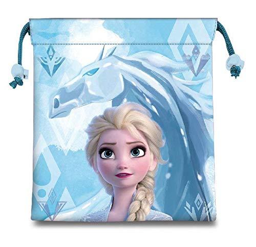 Disney Frozen Comida 2 Bolsas Fiambreras bento-Porta Alimentos Artículos para el hogar Unisex...