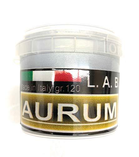 L.A.B. Vernice Acrilica, ad Acqua, Effetto Cromo Argento, 120 gr. (125 ml.) New Formula (1)