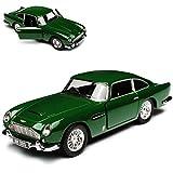Kinsmart Aston Martin DB5 Coupe Green James Bond 007 Goldfinger 1963-1965 - Coche de juguete