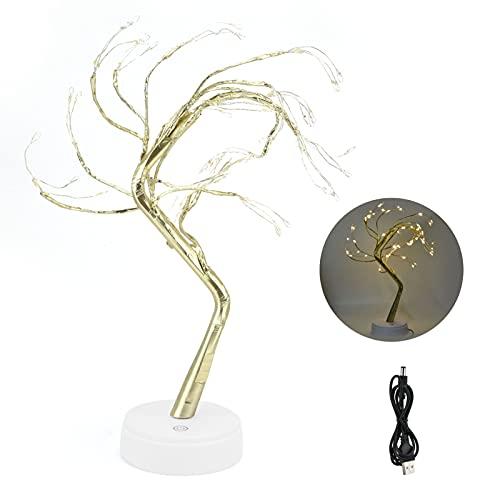 CUTULAMO Lámpara de árbol, lámpara de árbol LED Luz Conveniente y rápida a Pilas para Bares para dormitorios