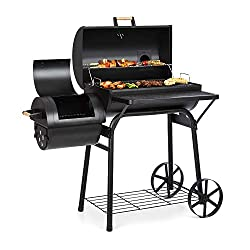 GRILLING EXPERIENCE: With the Klarstein Beef Brisket smoker grill you can enjoy the delicious benefits of a real barbecue at home. With the Beef Brisket, you can grill, smoke or even do both at the same time for delicious grill evenings at home. VERS...