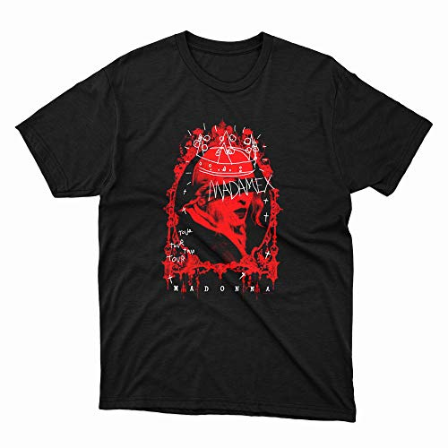 Madonna Madame X Tour Red Graphic T-shirt, Many Colors, S to 6XL