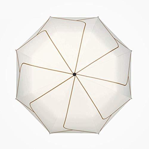 Ombrelli Pieghevole Ombrello Antivento per Uomo Donna - Forte, Piccolo, Leggero, Auto Aperto Chiuso - Ombrello da Viaggio Antivento Compatto