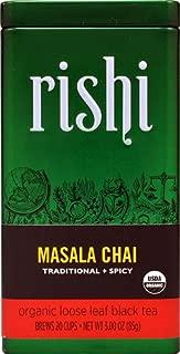 Rishi Tea Organic Loose Leaf Black Tea Masala Chai -- 3 oz - 2 pc